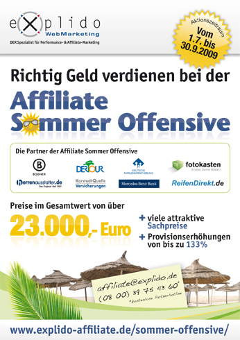 Affiliate Sommer Offensive 2009