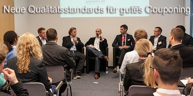 """Audio-Mitschnitt dmexco-Panel """"Neue Qualitätsstandards für gutes Couponing"""""""