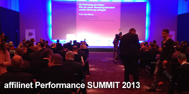 Recap affilinet Performance SUMMIT 2013