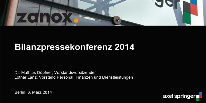 Zanox steigert Umsatz in 2013 um 5%