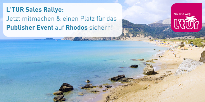 L'TUR Sales Rallye: Publisher Event auf Rhodos