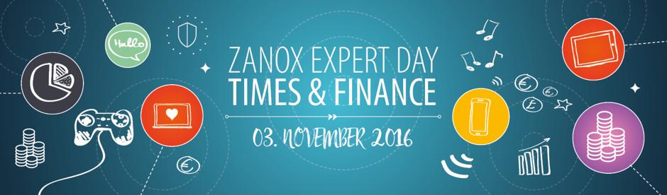 zanox Expert Day Times & Finance