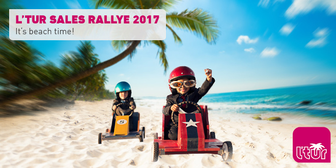L'TUR Sales Rallye 2017: It's beach time!