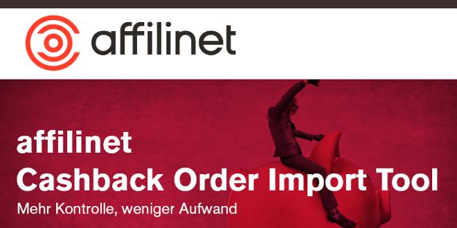 Zeitersparnis dank Cashback Order Import Tool