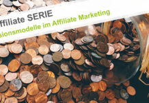 Provisionsmodelle im Affiliate Marketing