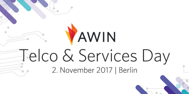 AWIN Telco & Services Day am 02. November 2017 in Berlin