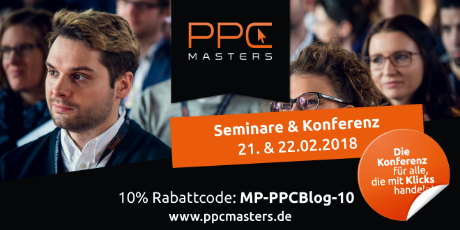 PPC Masters am 21. & 22. Februar 2018 in Berlin