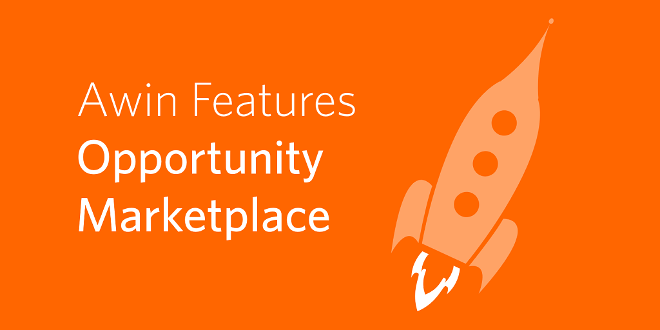 Opportunity Marketplace bei Awin
