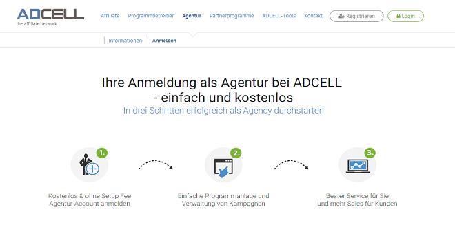 Einfache Programmverwaltung bei ADCELL für Agenturen