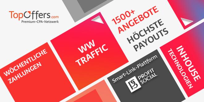 TopOffers: Bester Profit mit Deutschland-Traffic