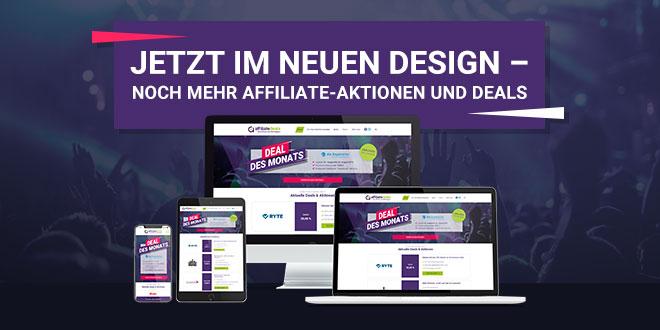 Affiliate-deals.de erscheint im neuen Glanz